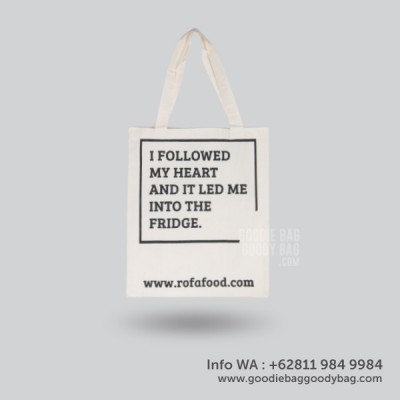 Tote Bag Rafa Food